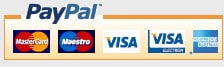 Secure payments via PayPal Checkout